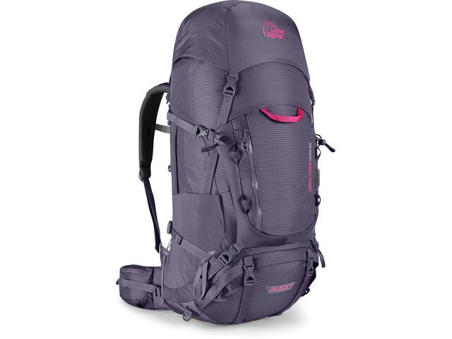 Lowe Alpine Cerro Torre ND 60:80 Backpack Women Aubergine